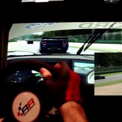 R3E - Imola - Ford GT1 - 92% AI race