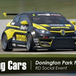 Project CARS 2 VR - Touring Cars - Donington Park National - RD Social Event