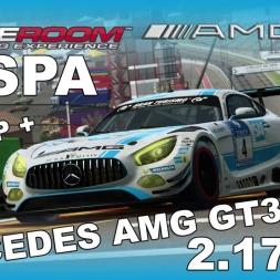 RaceRoom | Mercedes AMG GT3 | Setup + Hotlap | Spa | 2.17,671