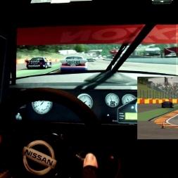 R3E - Spa - Nissan GTO - 100% AI race
