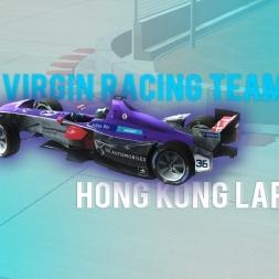 Rfactor 2 | Virgin Racing Team Formula E - Hong Kong lap
