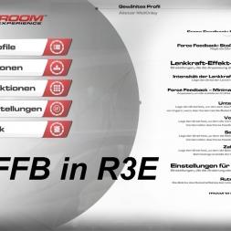 RaceRoom Racing Experience - Meine G27 Force Feedback Einstellungen (mit Kommentar)