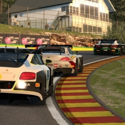RaceRoom   Great Battle in the new GT3s @ Spa