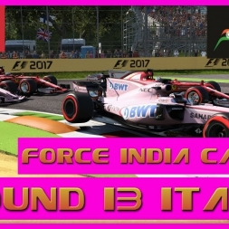 F1 2017 Career Mode Force India - Round 13 Italy  - Front Row Pressure