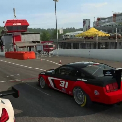 RaceRoom Racing Experience - initial laps @ Spa