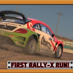 """iRacing: First Rally-x Run!"" (GRC at Phoenix)"
