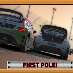 """""""iRacing: First Pole!"""" (GRC at Phoenix)"""