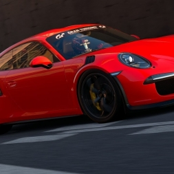 Gran Turismo Sport: Porsche GT3 RS at Tokyo Expressway Central Outer Loop