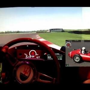 AC - New Jersey Motorsports Park - Maserati 250F 6 cyl - 98% AI race