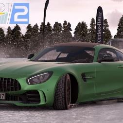 Mini Let's Play - Project Cars 2 - Zum ersten Mal auf der Eisstrecke im Mercedes-AMG GT R