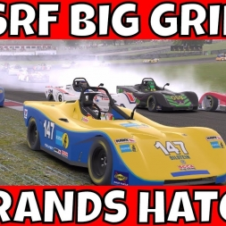 SRF Big Grid Race at Brands Hatch Grand Prix - 50+ Car Grid!!!