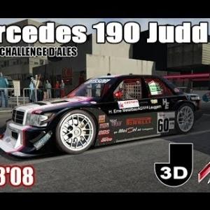 ALES : LE GRAND CHALLENGE : Mercedes 190 Judd