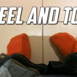 Heel and toe (and socks)