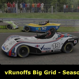 iRacing - vRunoffs Big Grid