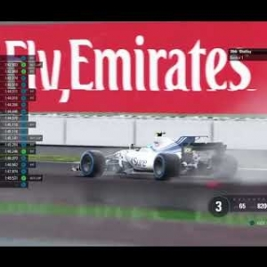 F1 2017: RaceDepartment PS4 F1 Championship - Round 10: Great Britain