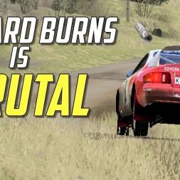 Richard Burns Rally is Brutal! - Toyota Celica ST205 GrpA - [Xmas socks cam]  Virtual Reality