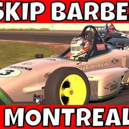 Skip Barber at Circuit Gilles Villeneuve - 2 Gallons is a bit tight on fuel