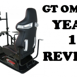 GT OMEGA PRO RACING SIMULATOR YEAR 1 REVIEW
