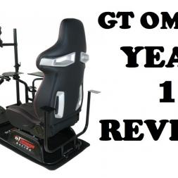GT OMEGA PRO RACING SIMULATOR YEAR 1 REVIEW