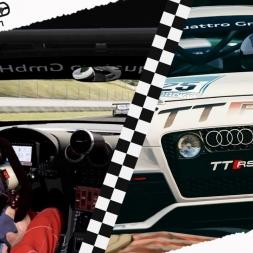 ASSETTO CORSA Mixed Reality Audi TT RS VlN 100% AI AT Mugello