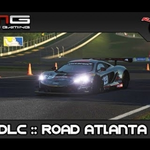 rfactor 2 :: GT3 DLC and Mod Track Road Atlanta 2017