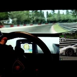 AC - Nordschleife - Lamborgini Huracan GT3 - online race