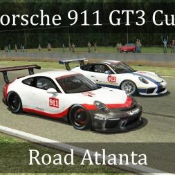 Assetto Corsa: Porsche 911 GT3 Cup // Road Atlanta (VR)