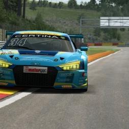 RaceRoom LeaderBoard + Setup | AUDI R8 LMS GT3 @ Spa 2:16:5xx