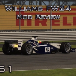 Assetto Corsa | Williams FW24 F1 Review (MOD) | Episode 151