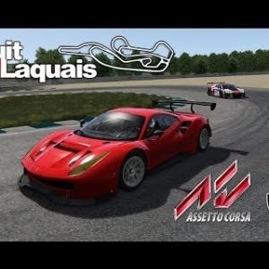 Bataille en GT3 - Circuit du LAQUAIS 2018 [Assetto Corsa]