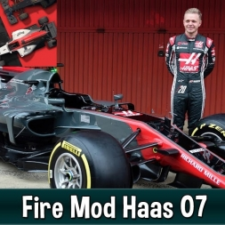 Motorsport Manager Fire Mod - Haas F1 The American Dream 07