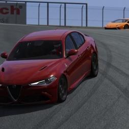 Mini Let's Play - Assetto Corsa (1.16) - BP 3 #01 - Alfa Romeo Giulia & Laguna Seca
