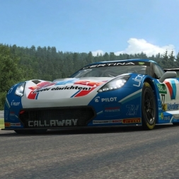 RaceRoom LeaderBoard + Setup | Corvette C7 GT3-R @ Spa 2:15:7xx