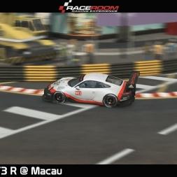 Raceroom - Porsche 911 GT3 R @ Macau