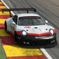 RaceRoom LeaderBoard + Setup | Porsche 911 GT3R @ Spa 2:16:5xx