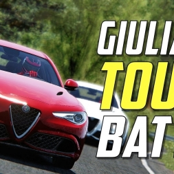 THE NEW TOUGE KING!  Alfa Romeo Giulia QV Akina downhill Battle  | Assetto Corsa VR