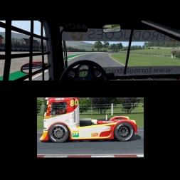 AUTOMOBILISTA Formula Truck at BUSKERUD KART TRACK