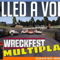 RaceDepartment - Saturday Night Wreckfest - LIVE MULTIPLAYER!
