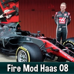 Motorsport Manager Fire Mod - Haas F1 The American Dream 08