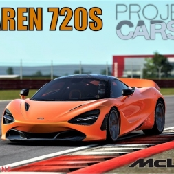 Mclaren 720S at Silverstone - Project CARS 2