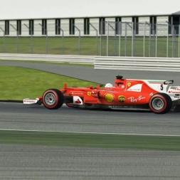 SF70H Silverstone   Assetto Corsa