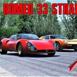 Alfa Romeo 33 Stradale at Krajiška Zmija - Vintage Hillclimb - Assetto Corsa