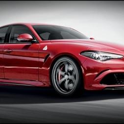 Assetto Online: Test driving the Alfa Romeo Giulia Quadrifoglio on a wild Highlands server!