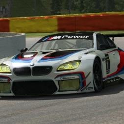 RaceRoom LeaderBoard + Setup | BMW M6 GT3 @ Spa 2:16:5xx