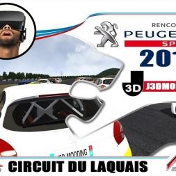 CHAMPIONNAT 208 RC 2018 : CIRCUIT DU LAQUAIS [VR OCULUS RIFT]