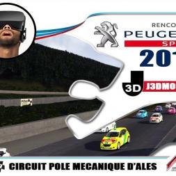 CHAMPIONNAT 208 RC 2018 : CIRCUIT ALES CEVENNES [VR OCULUS RIFT]