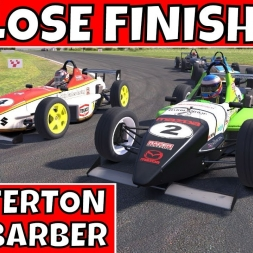 Help!! Multiple bogies on my six - iRacing Skip Barber at Snetterton