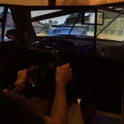 rFactor 2 - GT2 Corvettes/rain test - @ Monza -