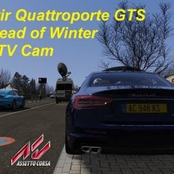 Maserati Quattroporte GTS in the Dead of Winter TV Cam - Assetto Corsa (1.16.2)