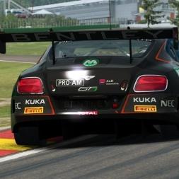 RaceRoom LeaderBoard + Setup | Bentley GT3 @ Spa 2:16:0xx